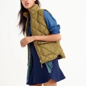 J. Crew {retail} Green Excursion Vest